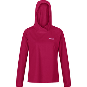Regatta Montes Hoody Women, dark cerise/beetroot